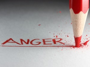 anger pencil