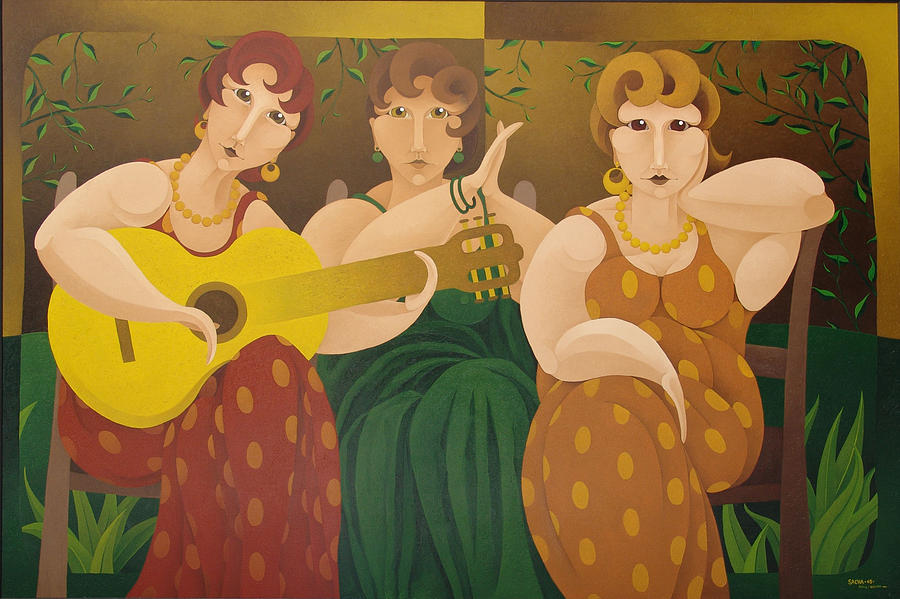 Three Women 2005, by SACHA