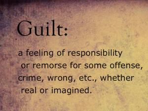 guilt description